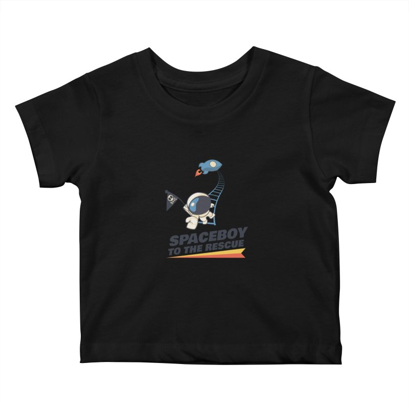 To the Rescue - Small Kids Baby T-Shirt by Spaceboy Books LLC's Artist Shop
