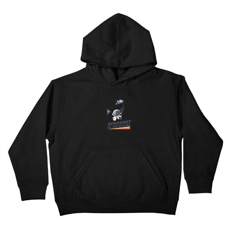To the Rescue - Small Kids Pullover Hoody by Spaceboy Books LLC's Artist Shop