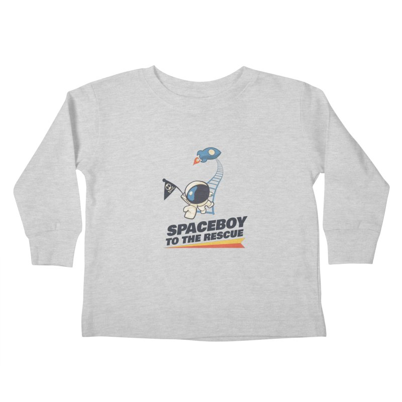 To the Rescue - Small Kids Toddler Longsleeve T-Shirt by Spaceboy Books LLC's Artist Shop