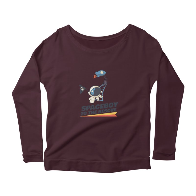To the Rescue - Small Women's Scoop Neck Longsleeve T-Shirt by Spaceboy Books LLC's Artist Shop