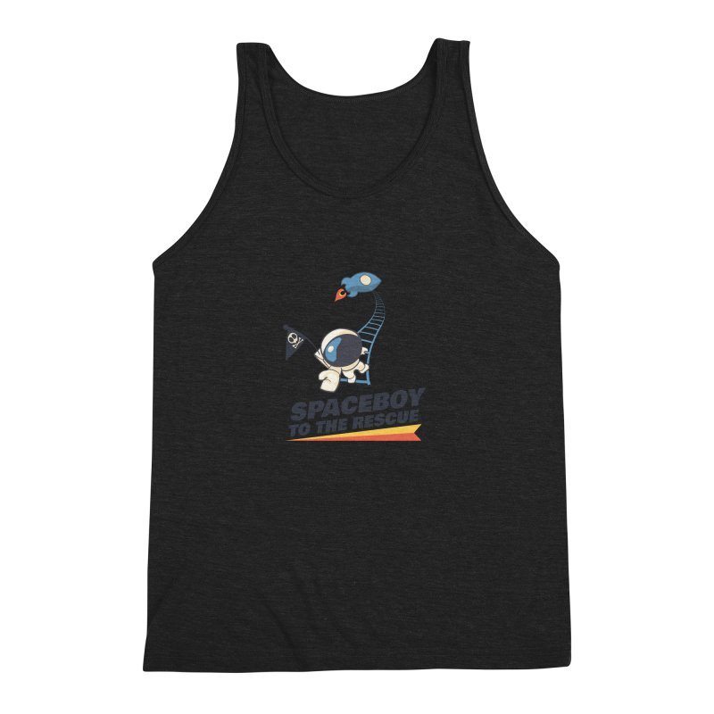 To the Rescue - Small Men's Triblend Tank by Spaceboy Books LLC's Artist Shop