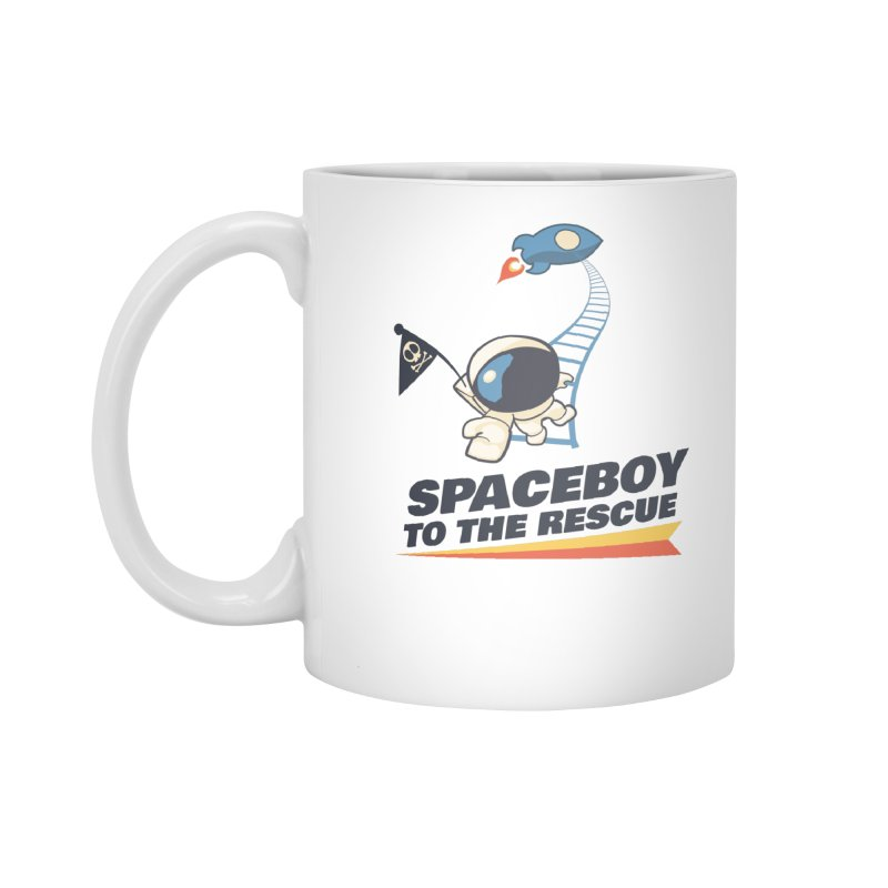 To the Rescue - Small Accessories Standard Mug by Spaceboy Books LLC's Artist Shop