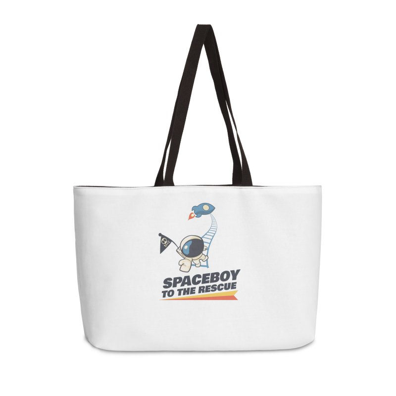 To the Rescue - Small Accessories Weekender Bag Bag by Spaceboy Books LLC's Artist Shop