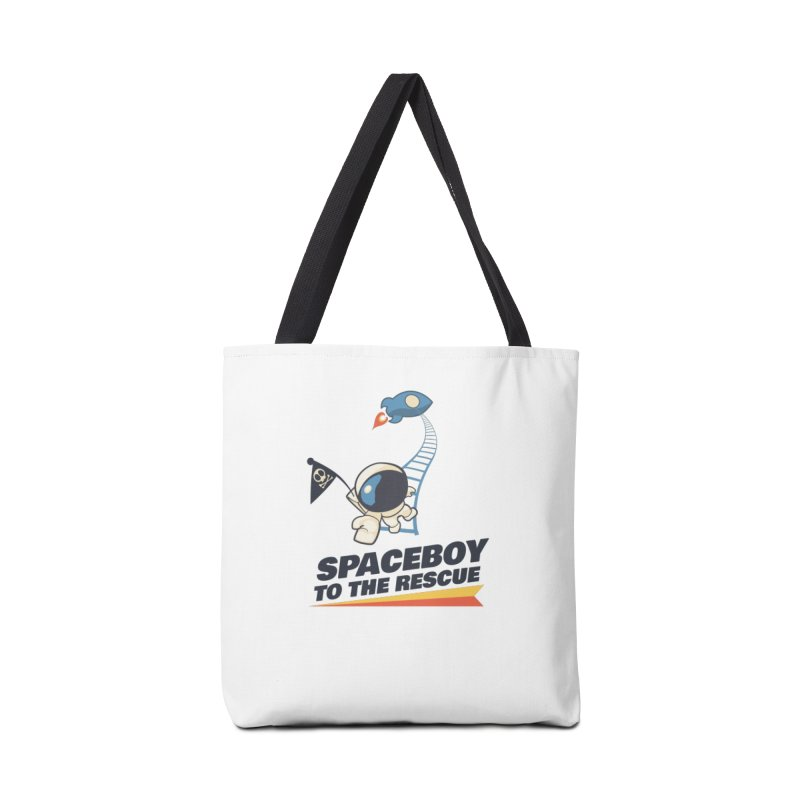 To the Rescue - Small Accessories Tote Bag Bag by Spaceboy Books LLC's Artist Shop