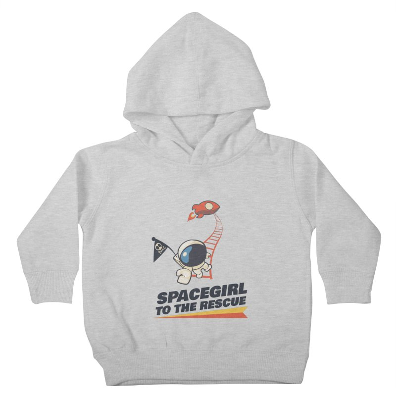 Spacegirl To The Rescue - Small Kids Toddler Pullover Hoody by Spaceboy Books LLC's Artist Shop