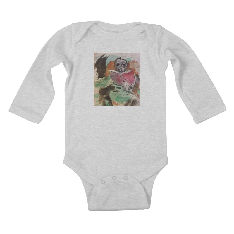 BONED Every Which Way 2016 - Reading Kids Baby Longsleeve Bodysuit by Spaceboy Books LLC's Artist Shop