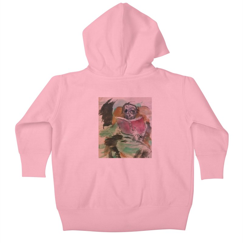 BONED Every Which Way 2016 - Reading Kids Baby Zip-Up Hoody by Spaceboy Books LLC's Artist Shop