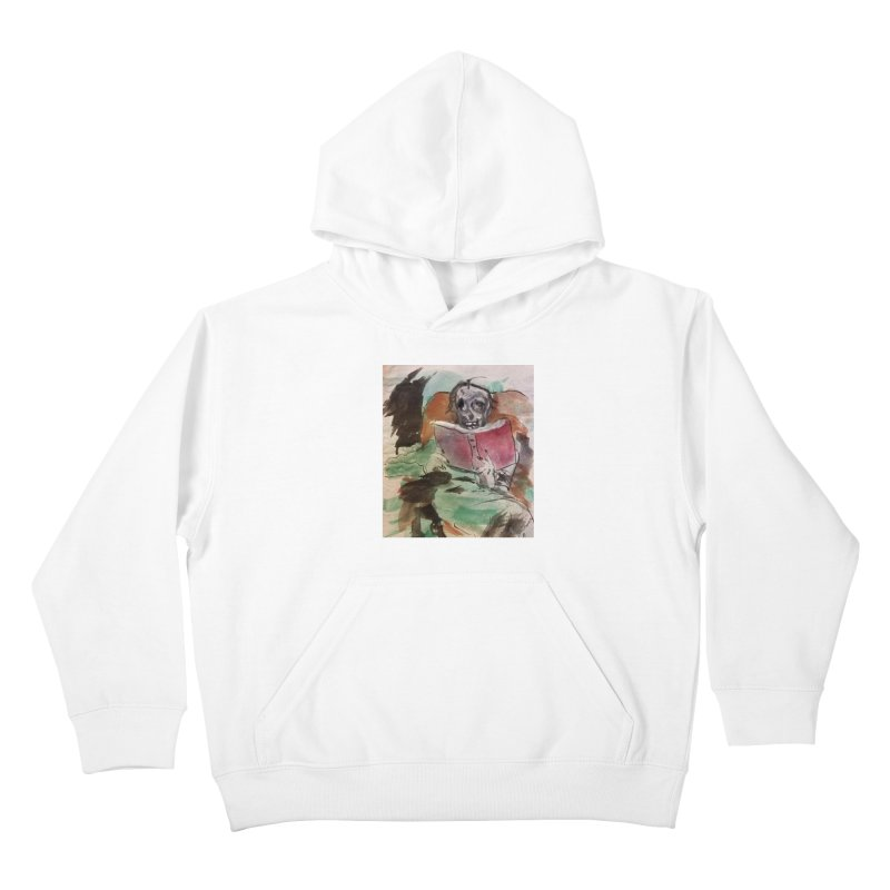 BONED Every Which Way 2016 - Reading Kids Pullover Hoody by Spaceboy Books LLC's Artist Shop