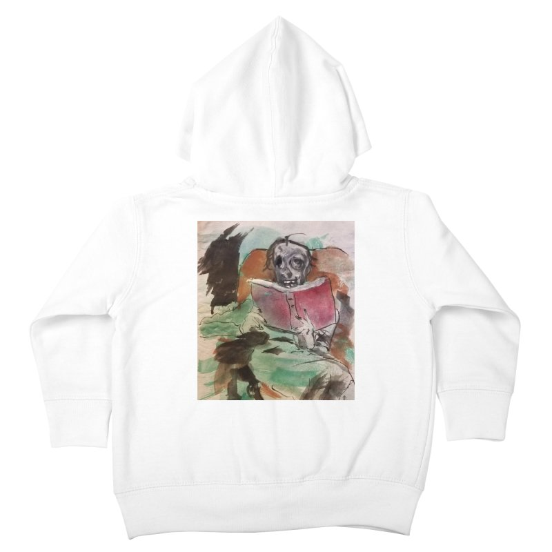 BONED Every Which Way 2016 - Reading Kids Toddler Zip-Up Hoody by Spaceboy Books LLC's Artist Shop