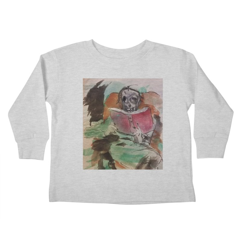 BONED Every Which Way 2016 - Reading Kids Toddler Longsleeve T-Shirt by Spaceboy Books LLC's Artist Shop