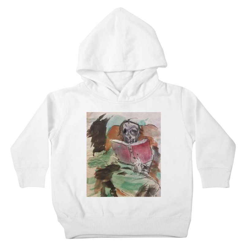 BONED Every Which Way 2016 - Reading Kids Toddler Pullover Hoody by Spaceboy Books LLC's Artist Shop