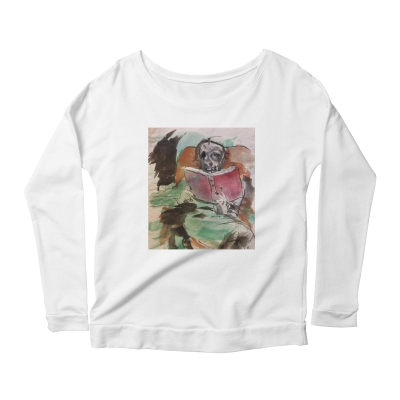 BONED Every Which Way 2016 - Reading Women's Scoop Neck Longsleeve T-Shirt by Spaceboy Books LLC's Artist Shop