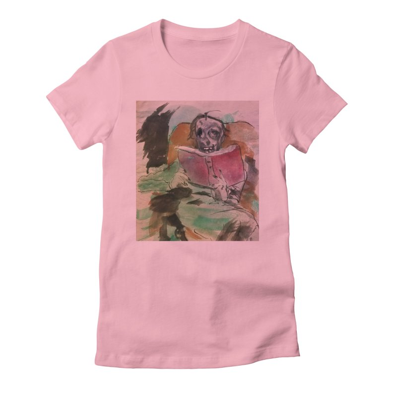 BONED Every Which Way 2016 - Reading Women's Fitted T-Shirt by Spaceboy Books LLC's Artist Shop