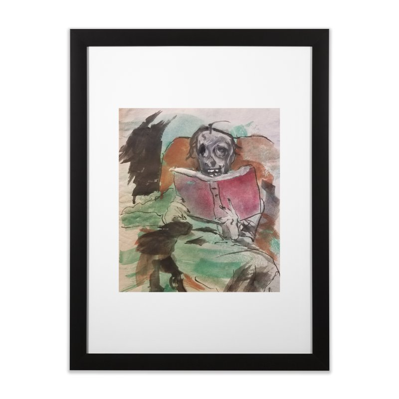BONED Every Which Way 2016 - Reading Home Framed Fine Art Print by Spaceboy Books LLC's Artist Shop