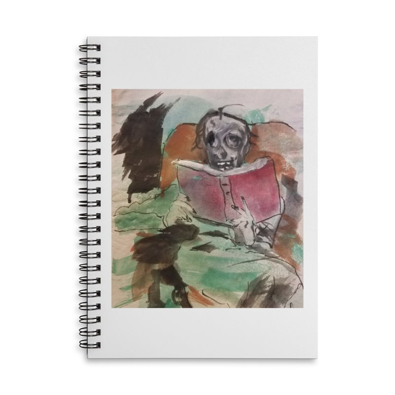 BONED Every Which Way 2016 - Reading Accessories Lined Spiral Notebook by Spaceboy Books LLC's Artist Shop