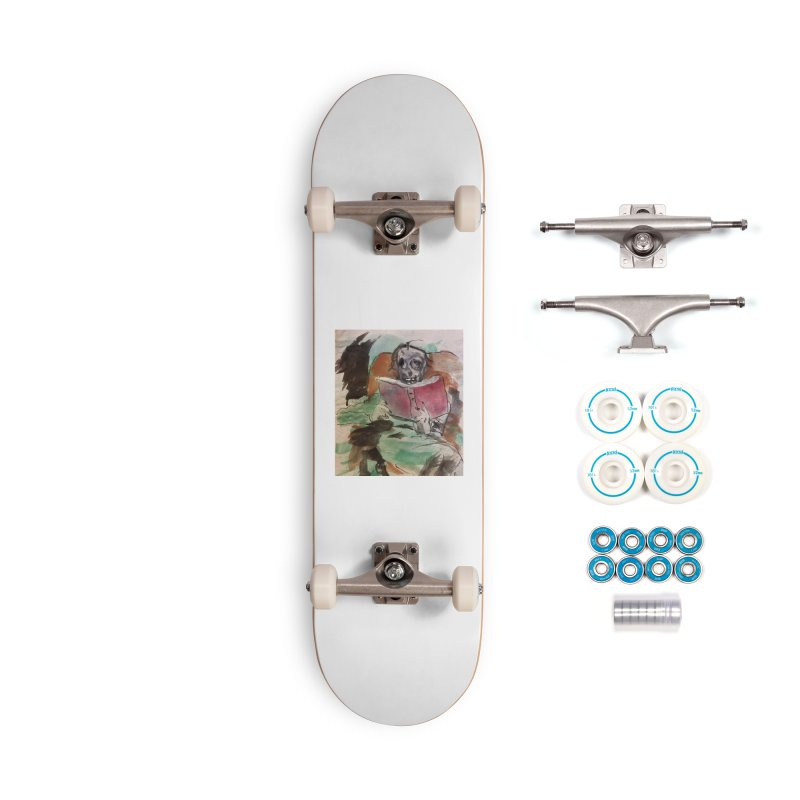 BONED Every Which Way 2016 - Reading Accessories Skateboard by Spaceboy Books LLC's Artist Shop