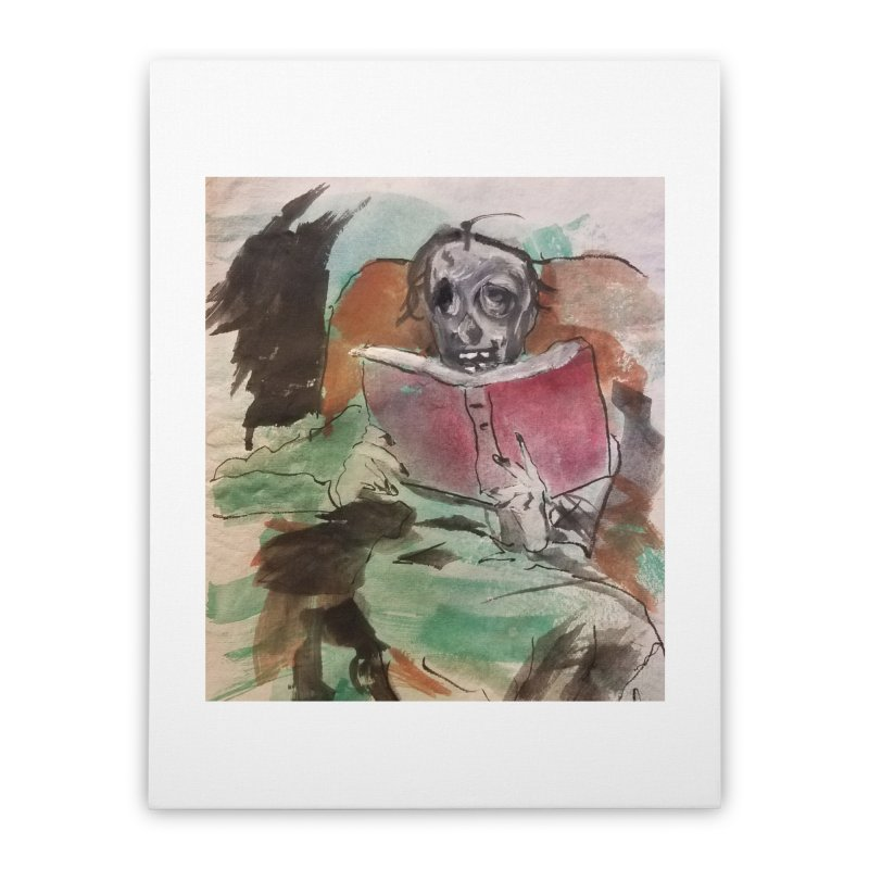 BONED Every Which Way 2016 - Reading Home Stretched Canvas by Spaceboy Books LLC's Artist Shop