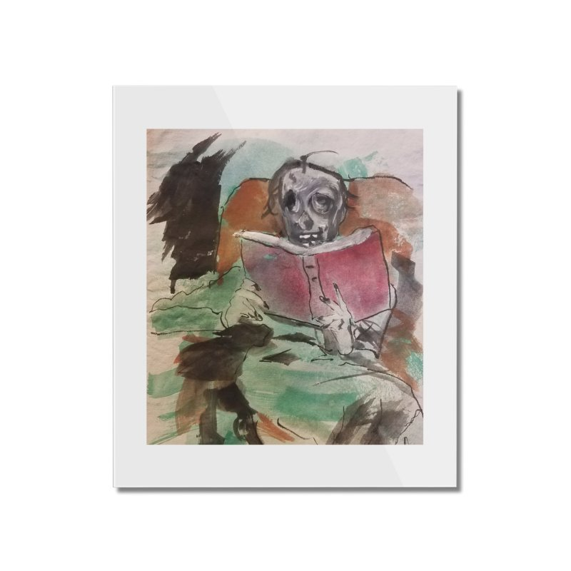 BONED Every Which Way 2016 - Reading Home Mounted Acrylic Print by Spaceboy Books LLC's Artist Shop