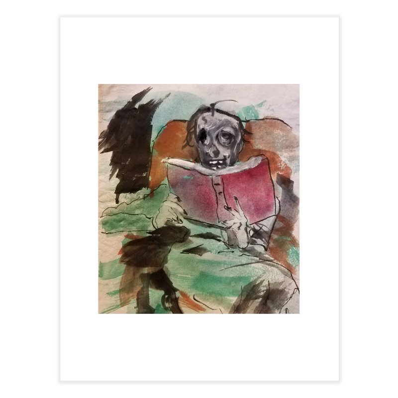 BONED Every Which Way 2016 - Reading Home Fine Art Print by Spaceboy Books LLC's Artist Shop