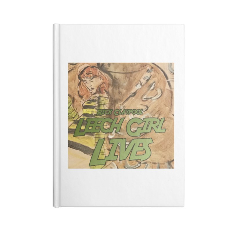 Margo Chicago fights a Tardigrade - Leech Girl Lives Accessories Lined Journal Notebook by Spaceboy Books LLC's Artist Shop