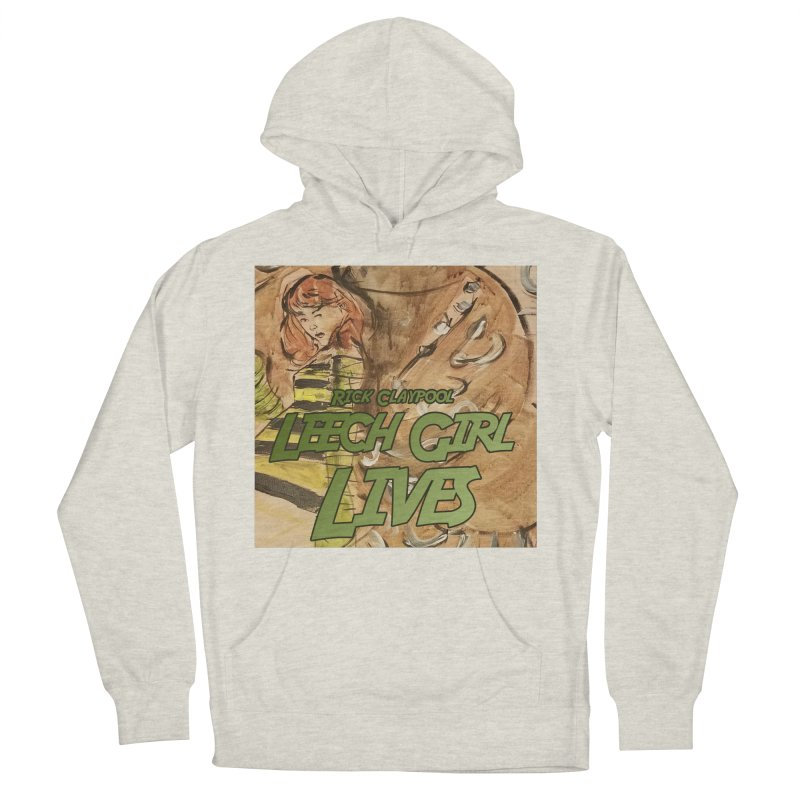 Margo Chicago fights a Tardigrade - Leech Girl Lives Men's French Terry Pullover Hoody by Spaceboy Books LLC's Artist Shop
