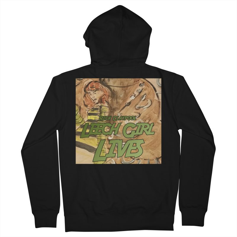 Margo Chicago fights a Tardigrade - Leech Girl Lives Men's French Terry Zip-Up Hoody by Spaceboy Books LLC's Artist Shop