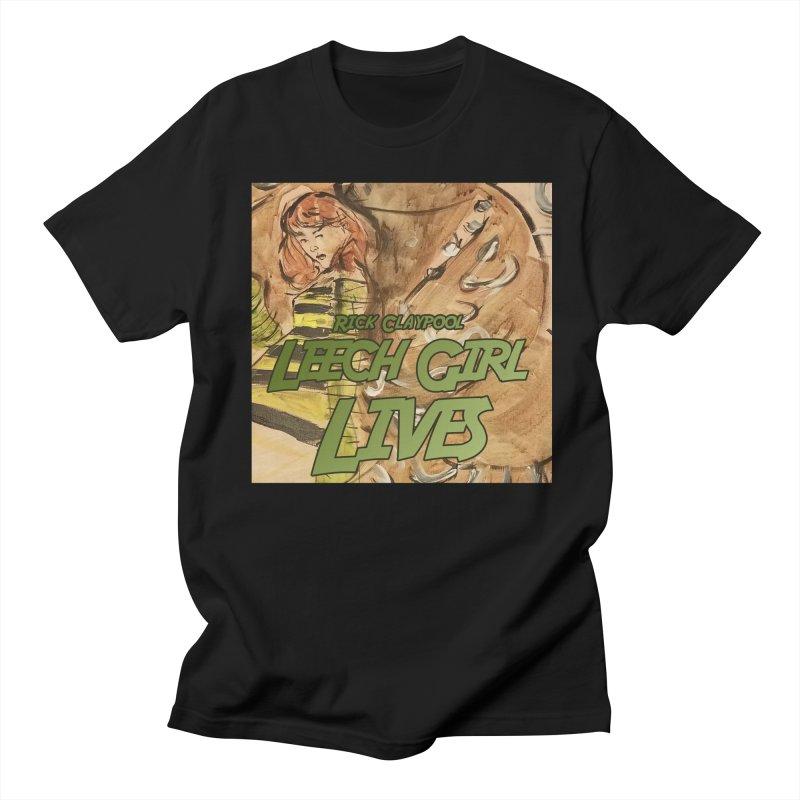 Margo Chicago fights a Tardigrade - Leech Girl Lives Men's Regular T-Shirt by Spaceboy Books LLC's Artist Shop