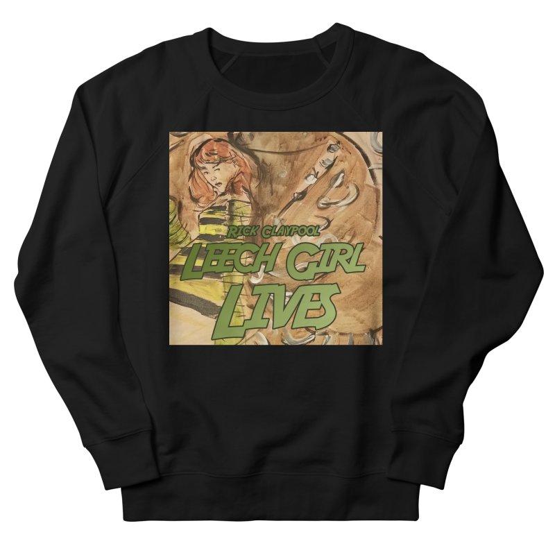 Margo Chicago fights a Tardigrade - Leech Girl Lives Men's French Terry Sweatshirt by Spaceboy Books LLC's Artist Shop