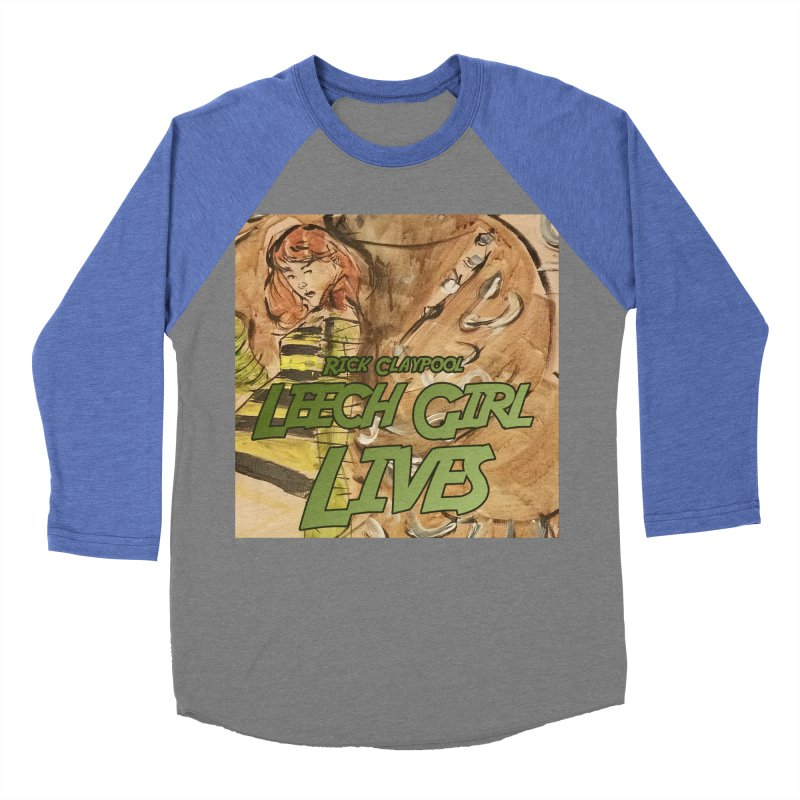 Margo Chicago fights a Tardigrade - Leech Girl Lives Men's Baseball Triblend Longsleeve T-Shirt by Spaceboy Books LLC's Artist Shop