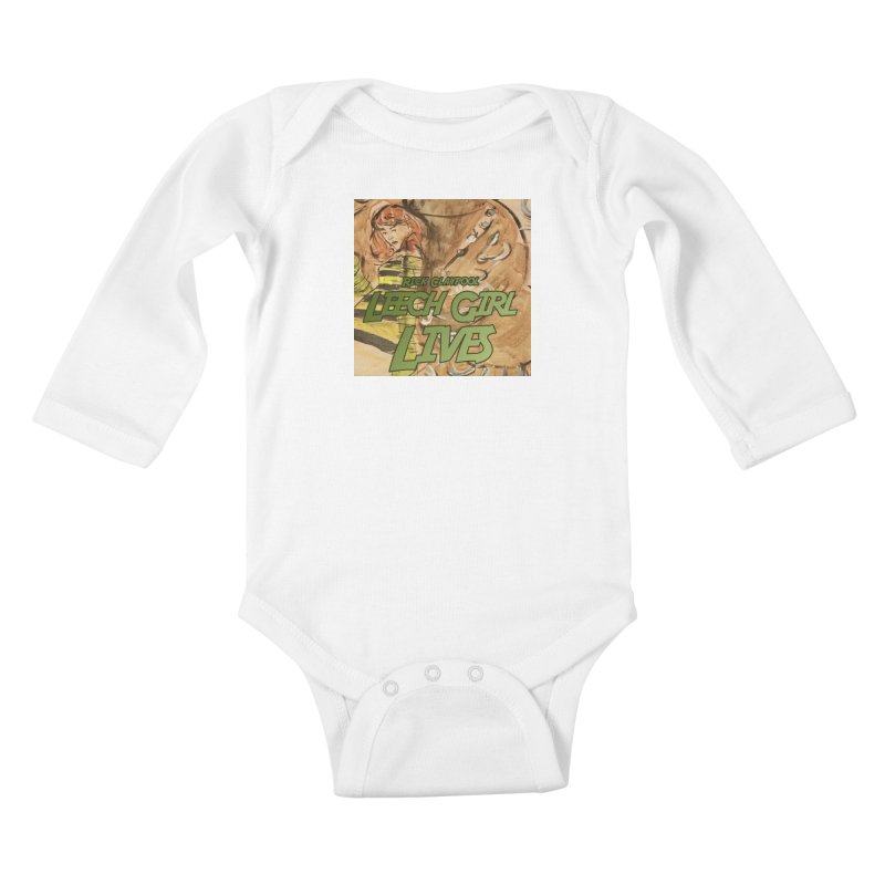 Margo Chicago fights a Tardigrade - Leech Girl Lives Kids Baby Longsleeve Bodysuit by Spaceboy Books LLC's Artist Shop