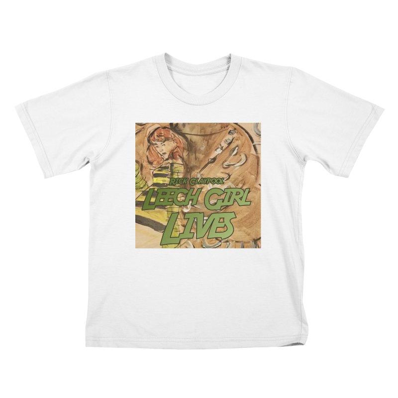 Margo Chicago fights a Tardigrade - Leech Girl Lives Kids T-Shirt by Spaceboy Books LLC's Artist Shop