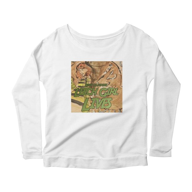 Margo Chicago fights a Tardigrade - Leech Girl Lives Women's Scoop Neck Longsleeve T-Shirt by Spaceboy Books LLC's Artist Shop