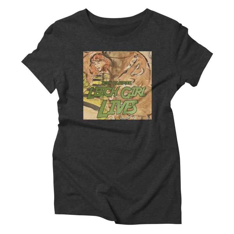Margo Chicago fights a Tardigrade - Leech Girl Lives Women's Triblend T-Shirt by Spaceboy Books LLC's Artist Shop