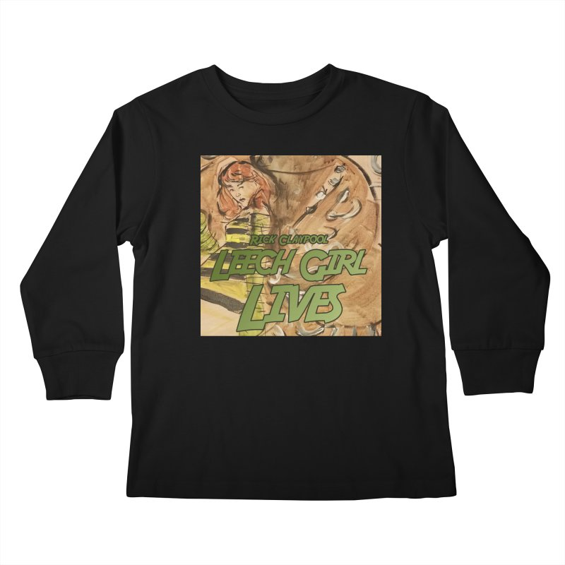 Margo Chicago fights a Tardigrade - Leech Girl Lives Kids Longsleeve T-Shirt by Spaceboy Books LLC's Artist Shop