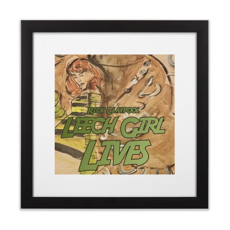 Margo Chicago fights a Tardigrade - Leech Girl Lives Home Framed Fine Art Print by Spaceboy Books LLC's Artist Shop