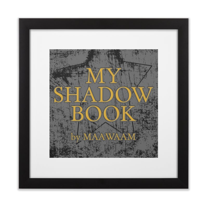 My Shadow Book by Maawaam Home Framed Fine Art Print by Spaceboy Books LLC's Artist Shop
