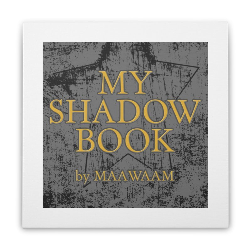 My Shadow Book by Maawaam Home Stretched Canvas by Spaceboy Books LLC's Artist Shop