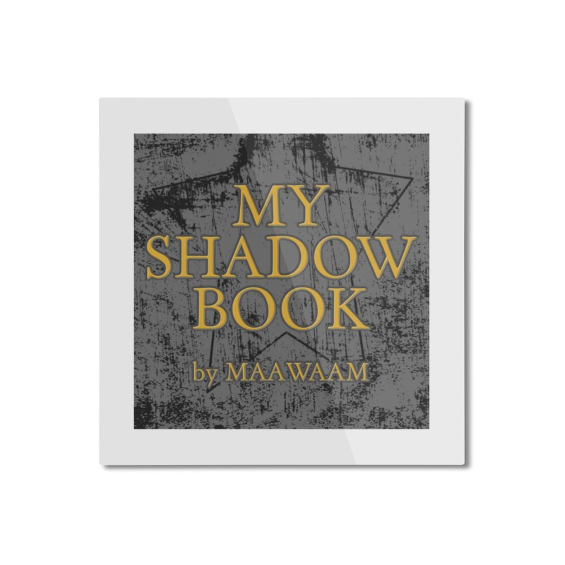 My Shadow Book by Maawaam Home Mounted Aluminum Print by Spaceboy Books LLC's Artist Shop