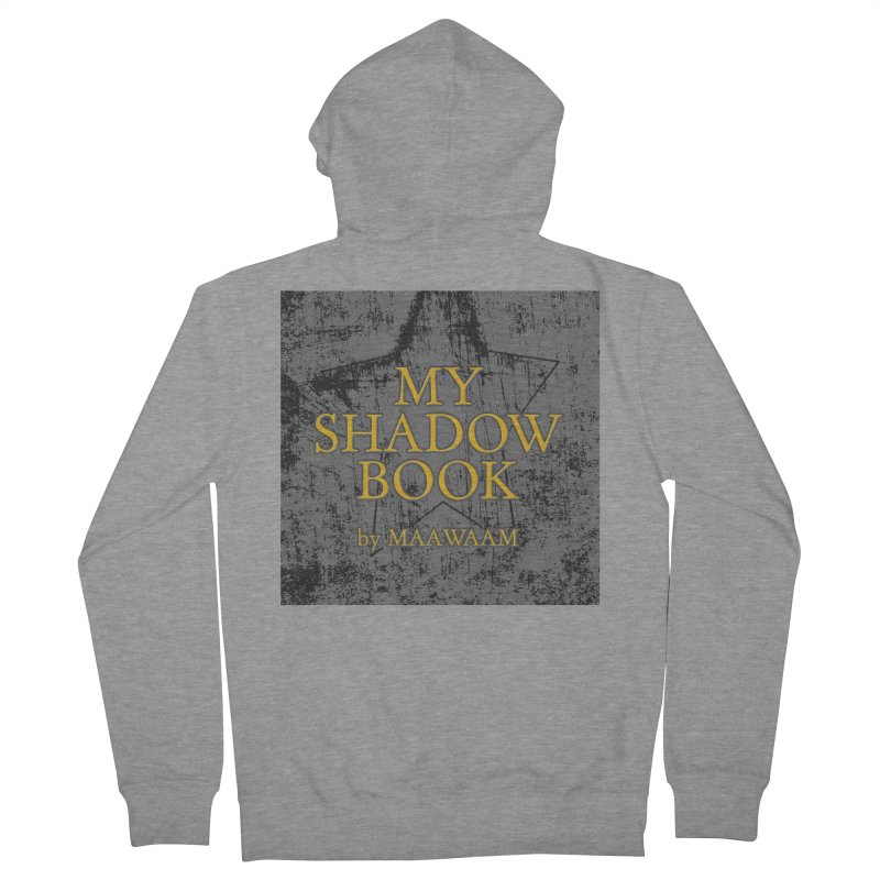 My Shadow Book by Maawaam Women's French Terry Zip-Up Hoody by Spaceboy Books LLC's Artist Shop