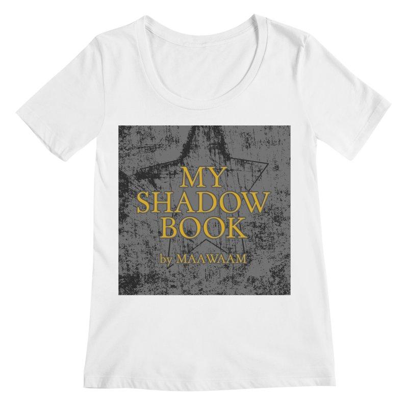 My Shadow Book by Maawaam Women's Regular Scoop Neck by Spaceboy Books LLC's Artist Shop