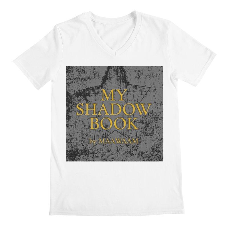 My Shadow Book by Maawaam Men's Regular V-Neck by Spaceboy Books LLC's Artist Shop