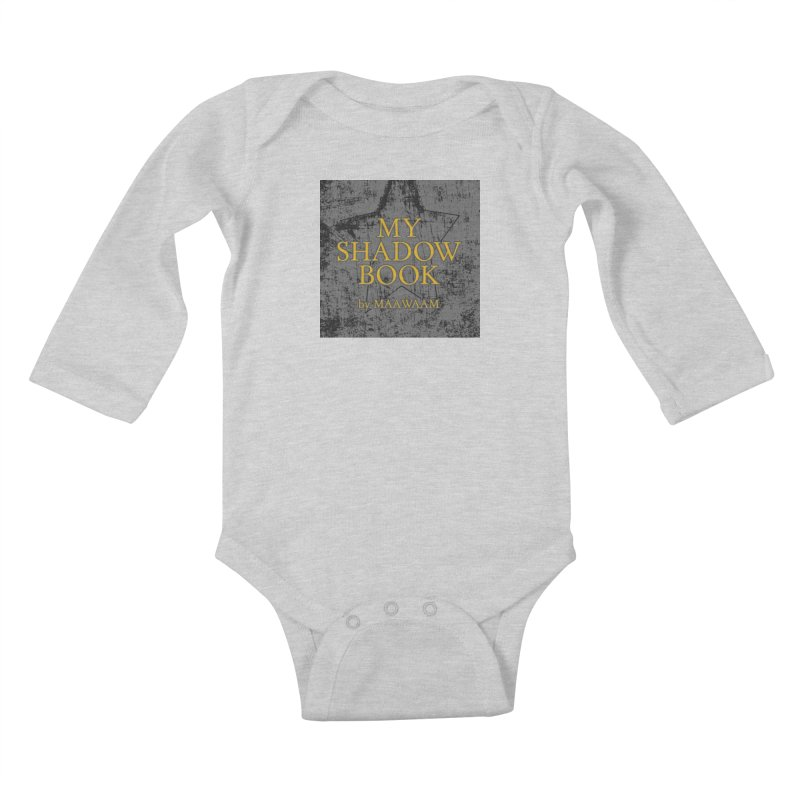 My Shadow Book by Maawaam Kids Baby Longsleeve Bodysuit by Spaceboy Books LLC's Artist Shop