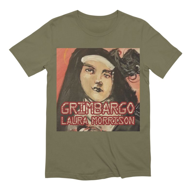 Grimbargo by Laura Morrison Men's Extra Soft T-Shirt by Spaceboy Books LLC's Artist Shop