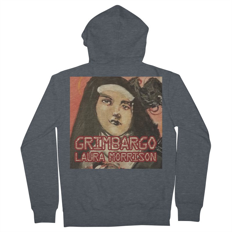 Grimbargo by Laura Morrison Men's French Terry Zip-Up Hoody by Spaceboy Books LLC's Artist Shop