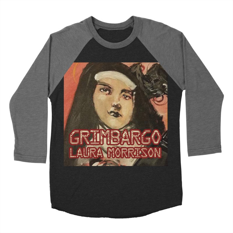 Grimbargo by Laura Morrison Men's Baseball Triblend Longsleeve T-Shirt by Spaceboy Books LLC's Artist Shop
