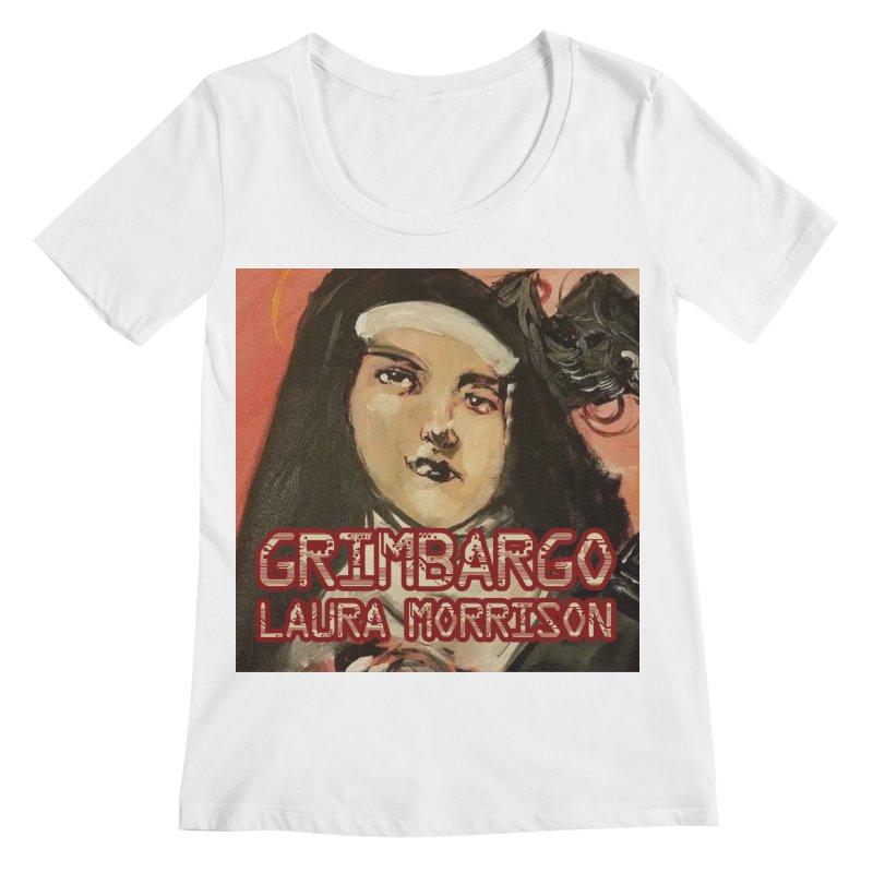 Grimbargo by Laura Morrison Women's Regular Scoop Neck by Spaceboy Books LLC's Artist Shop