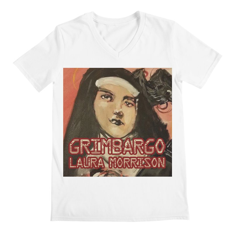 Grimbargo by Laura Morrison Men's Regular V-Neck by Spaceboy Books LLC's Artist Shop