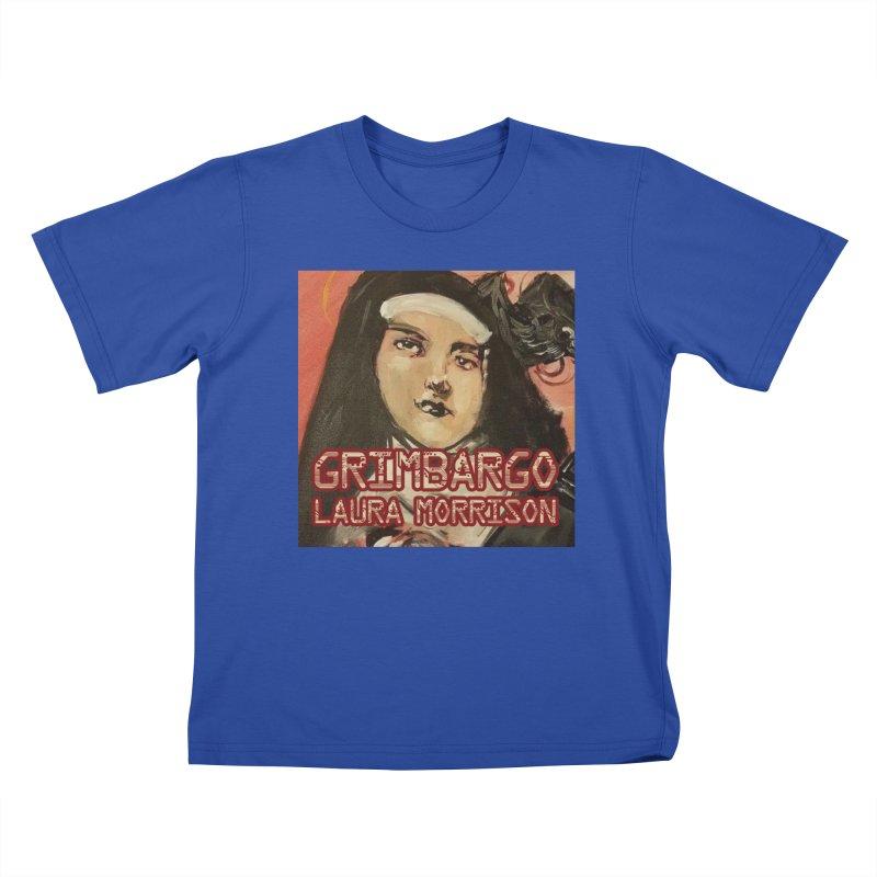 Grimbargo by Laura Morrison Kids T-Shirt by Spaceboy Books LLC's Artist Shop