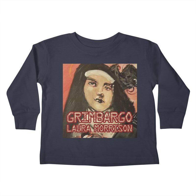 Grimbargo by Laura Morrison Kids Toddler Longsleeve T-Shirt by Spaceboy Books LLC's Artist Shop