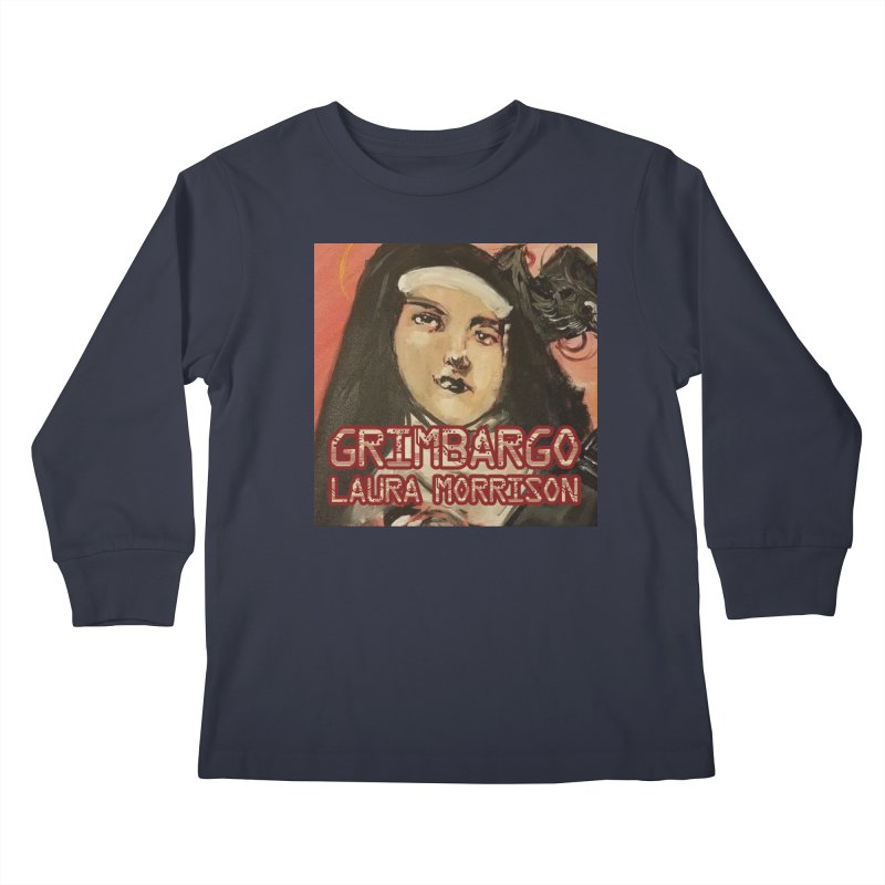 Grimbargo by Laura Morrison Kids Longsleeve T-Shirt by Spaceboy Books LLC's Artist Shop